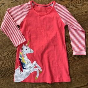 Other - Unicorn appliqué dress TODDLER
